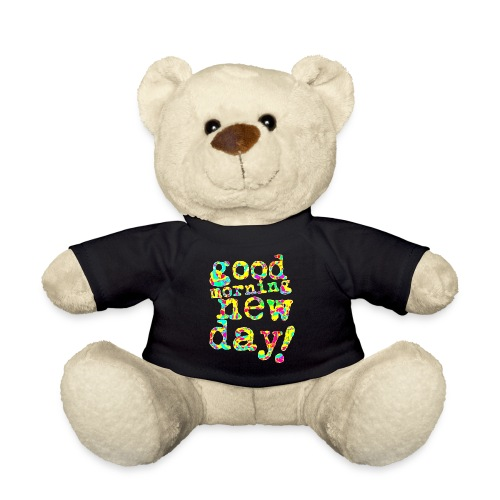 good morning new day yellow and red - Teddy