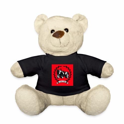 KonradSB czerwony - Miś w koszulce