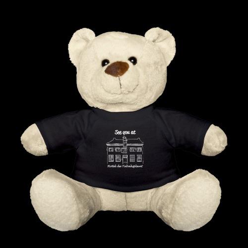 See you at Hotel de Tabaksplant WHITE - Teddy Bear