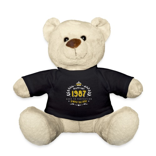 original since 1987 simply the best 30th birthday - Teddy Bear