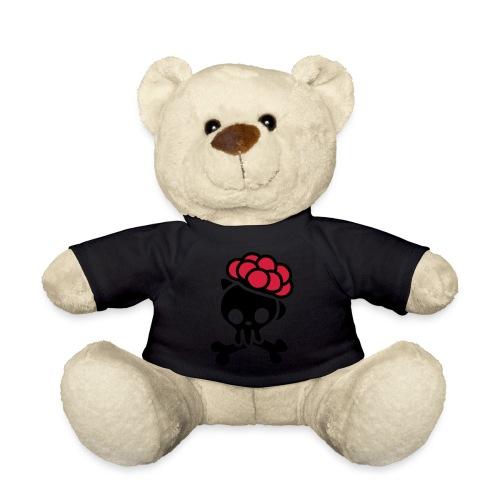 Totenkopf mit Bollenhut - Teddy