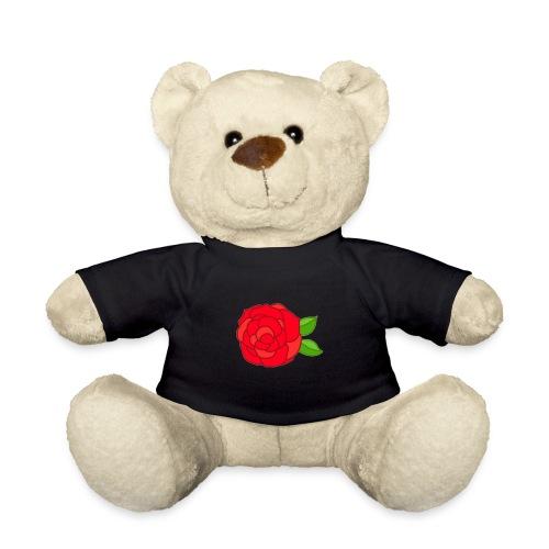 Róża - Miś w koszulce