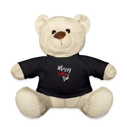 Merry x mas Dad Papa Weihnachten Geschenk - Teddy