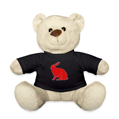 Roter Hase - Teddy
