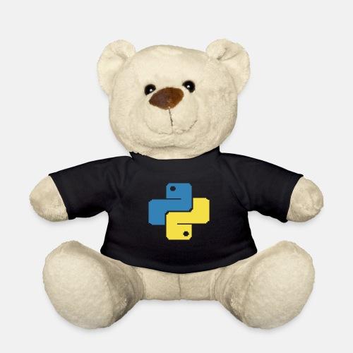 Python Pixelart - Teddy Bear