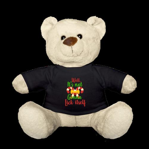 Weihnachten   lecken Zuckerstange Masche xmas - Teddy
