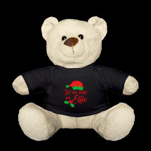 Weihnachten | Elf Mütze Weihnachtself Wortspiel - Teddy