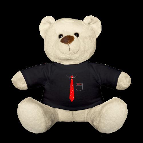 Geek | Schlips Krawatte Wissenschaft Streber - Teddy