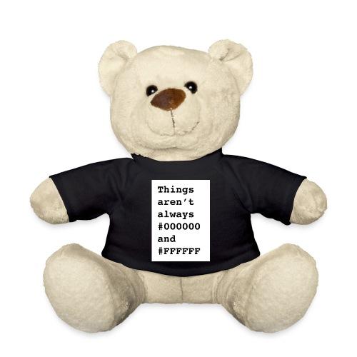 BlackWhite - Teddy