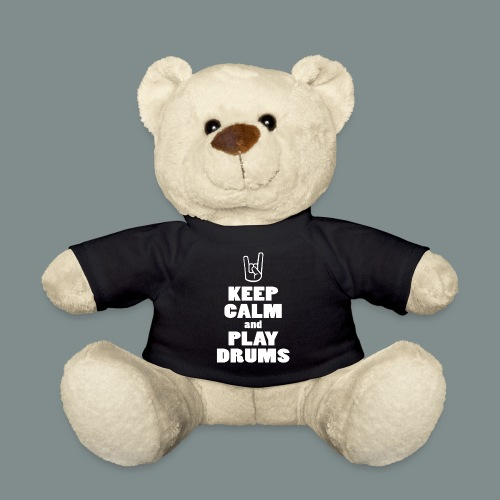 Keep calm and play drums - Nounours
