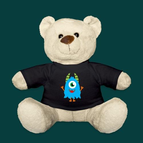 Lachendes Blaues Monster - Teddy