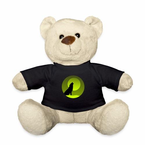 Wolf grün - Teddy