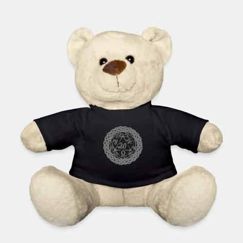 D20 Geschenk Glücksbringer Rollenspiel Würfel - Teddy Bear