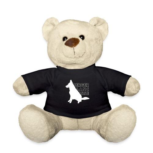 White Dog - Berger Black Suisse - Miś w koszulce