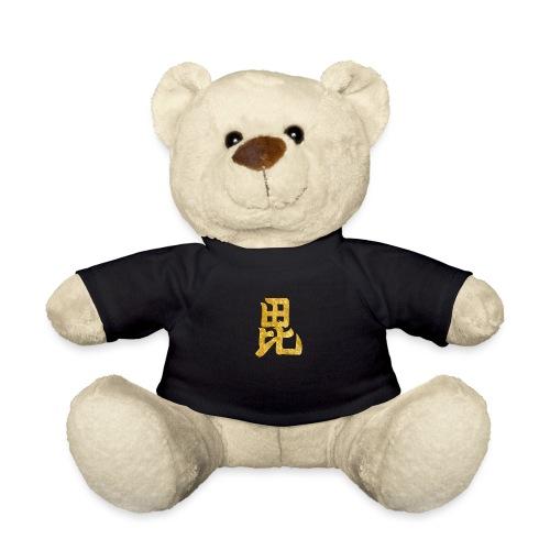 Uesugi Mon Japanese samurai clan in gold - Teddy Bear