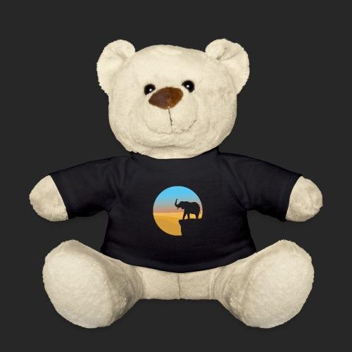 Sunset Elephant - Teddy Bear
