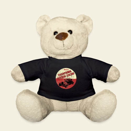 hotrod racing logo - Teddybjørn