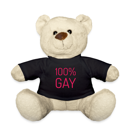 100% Gay in roze - Teddy