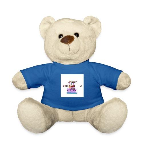 happy birthday 1 - Teddy Bear