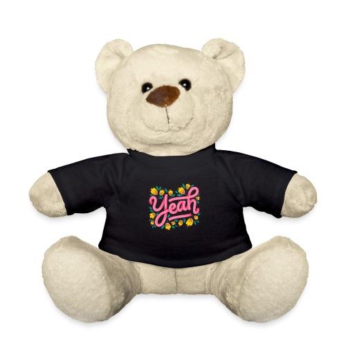 Yeah Aufschrift Lettering - Teddy