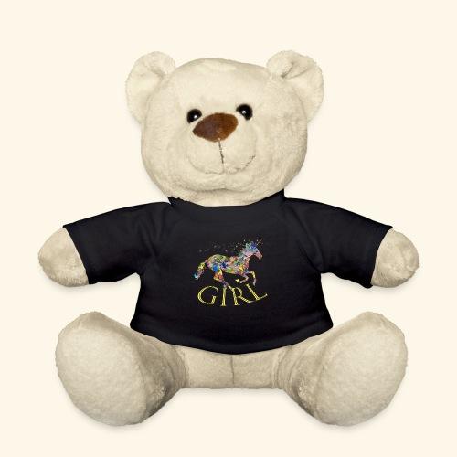 unicorn girl T-shirt - Orsetto