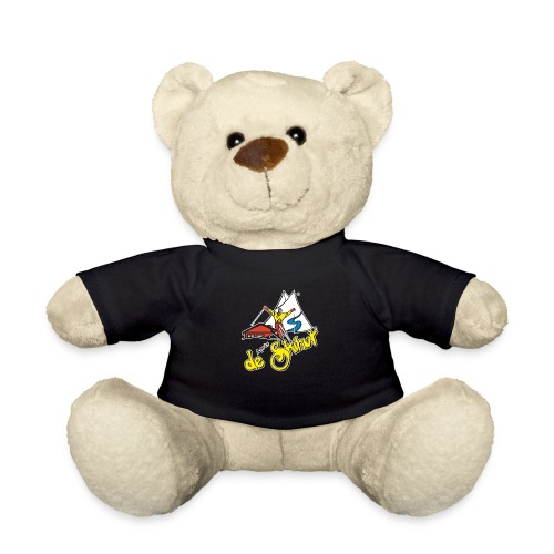 14787 fl tshirt logo skihut rotterdam - Teddy