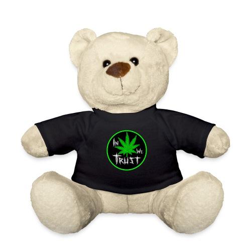 In weed we trust - Osito de peluche
