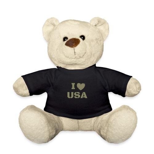 I HEART USA, I LOVE USA - Miś w koszulce