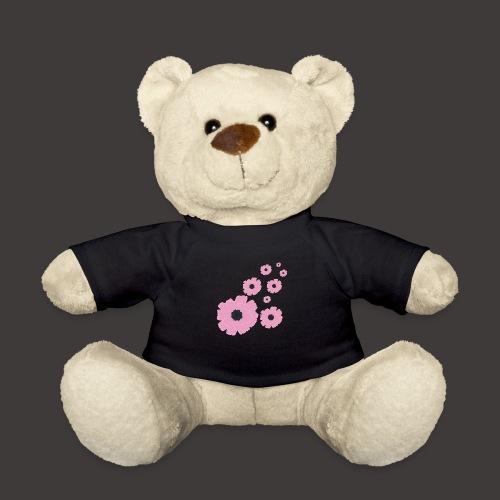 Mohnblüten rosa stilisiert, Blumenmotiv - Teddy