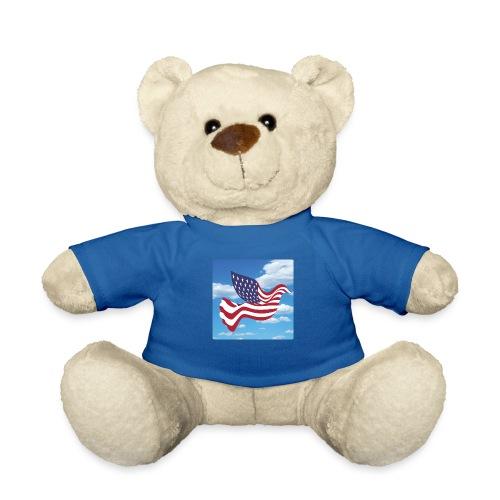 USA Spreads Peace - Teddy Bear