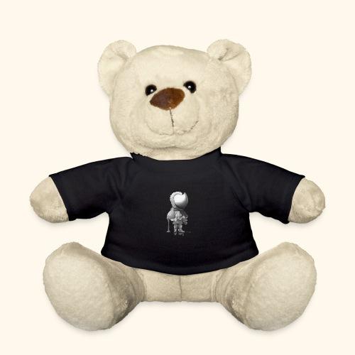 Unser Sandmännchen von hinten - schwarz - Teddy