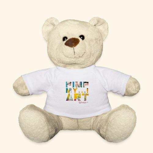T SHIRTS TEKST PIMP MY ART - Teddy