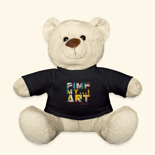T SHIRTS TEKST PIMP MY ART - Teddy