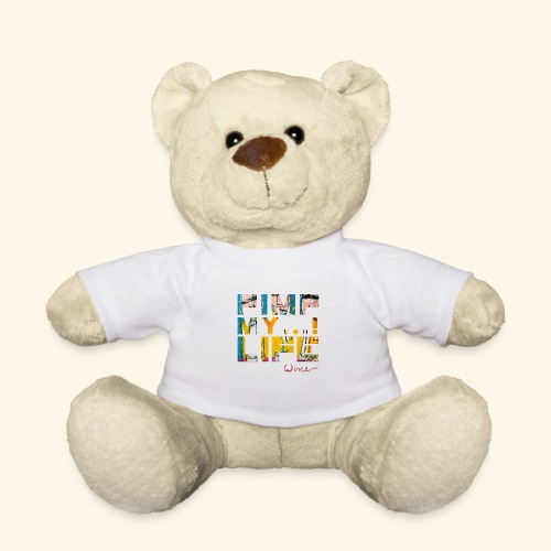 T SHIRTS TEKST PIMP MY LIFE - Teddy