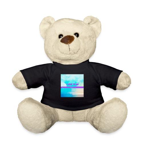 I love to go waaaaaalllkkinnnnng Official Merch - Teddy Bear
