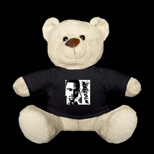 Malcom X Black and White - Teddy
