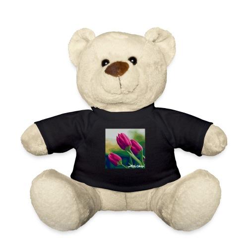 Blomster - Teddybjørn