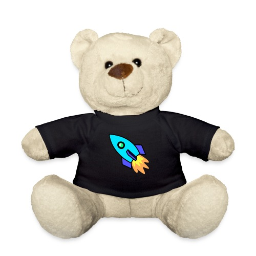 Blue rocket - Teddy Bear