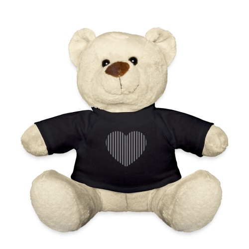 heart_striped.png - Teddy Bear