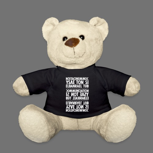 communication white sixnineline - Teddy Bear