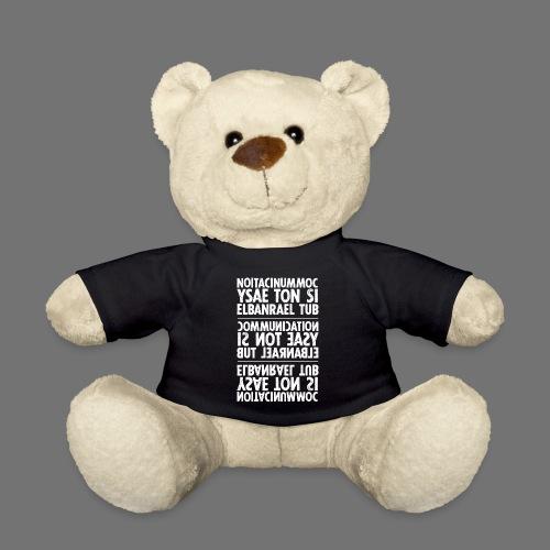 kommunikation hvid sixnineline - Teddybjørn