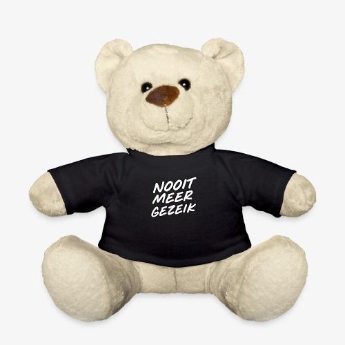 De 'Nooit Meer Gezeik' merchendise - Teddy