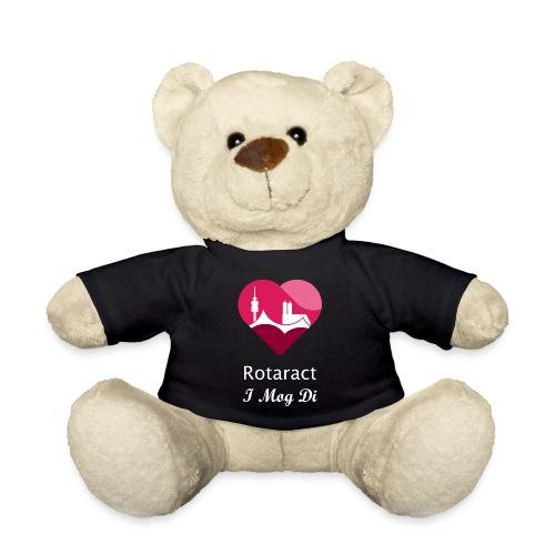 DeuKo19 (klein, weißes Logo) - Teddy