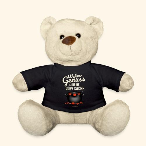 Dutch Oven T-Shirt Design Genuss ist Dopfsache - Teddy