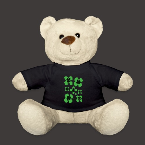 Klee vierblättrig stilisiert - Teddy