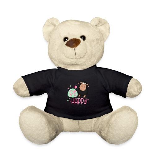 Schwarzes Schaf - be happy Schaf Glückliches Schaf - Teddy