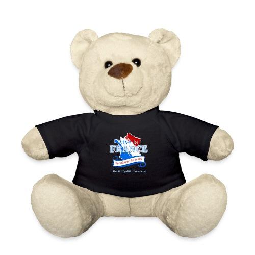 vive la France Frankreich République Française - Teddy Bear