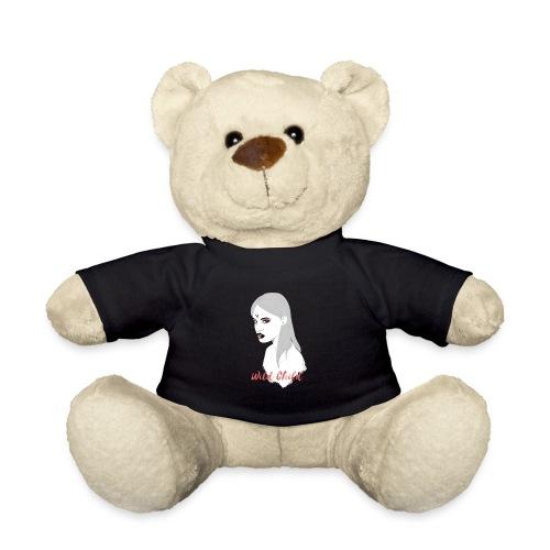 dark t shirt design female - Osito de peluche