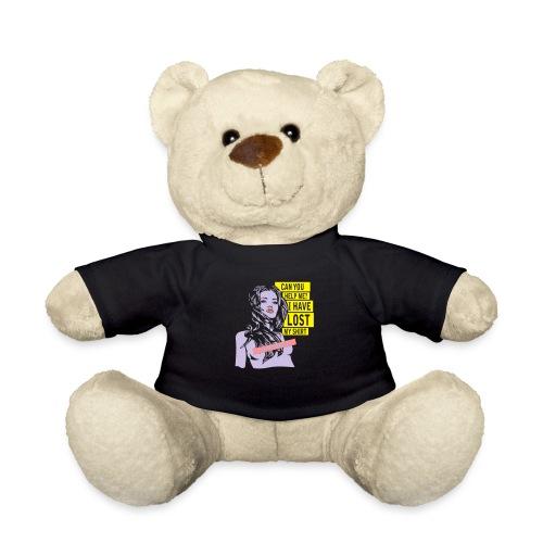 Frau zensiert - Teddy