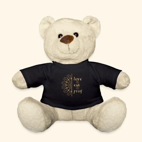 Eat Love & Pray - Teddy Bear